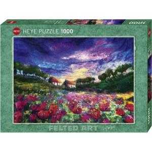 Heye Puzzle 1000 Pcs Sundown Poppies 29917