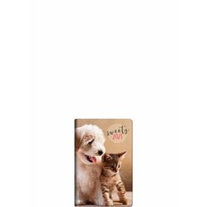 Θεοφύλακτος – Διήμερο Ημερολόγιο – Cane E Gatto 2021 6.5×10 68199.C11