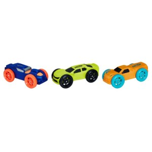 Hasbro – Nerf Nitro Foam Car Pack Of 3 E1237 (C0774)