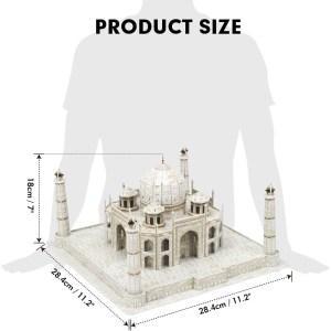Cubic Fun – 3D Puzzle National Geographic, Taj Mahal 87 Pcs DS0981h