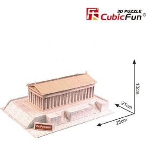 Cubic Fun – Puzzle 3D World΄s Great Architecture, The Parthenon 24 Pcs C076h