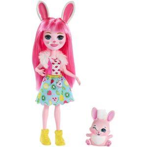 Mattel Enchantimals – Κούκλα Και Ζωάκι Bree Bunny & Twist FXM73 (DVH87)