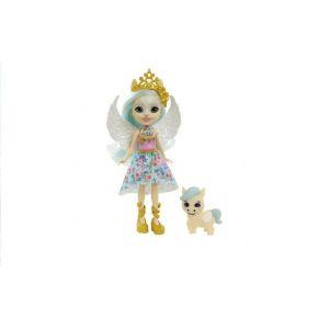 Mattel Royal Enchantimals – Κούκλα Και Ζωάκι Paolina Pegasus & Wingley GYJ03 (FNH22)
