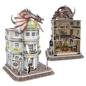 Cubic Fun – 3D Puzzle Harry Potter, Diagon Alley Gringotts Bank 74 Pcs DS1005h