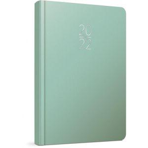 Unipap – Ημερήσιο Ημερολόγιο Verona 2022, 9×14 Πράσινο Pastel 622-1609-83D