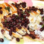 Cuban Chicken with Black Beans