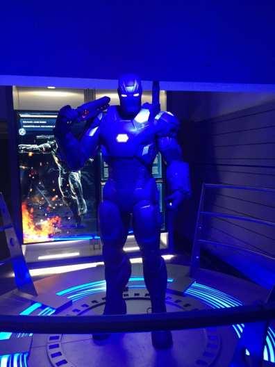 Avengers STATION Event My Geek Actu War Machine