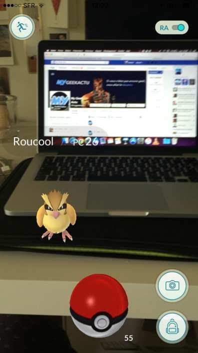 Pokemon GO Test My Geek Actu Infographie Roucoul