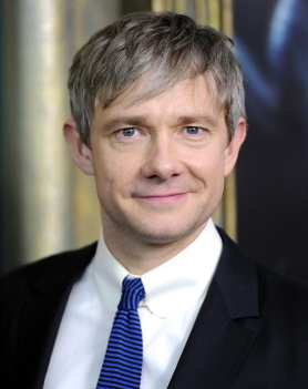 """Actor Martin Freeman attends the premiere of """"The Hobbit: An Unexpected Journey"""" at the Ziegfeld Theatre on Thursday Dec. 6, 2012 in New York. (Photo by Evan Agostini/Invision/AP)"""