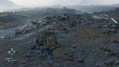 Death Stranding sur PS4 Pro