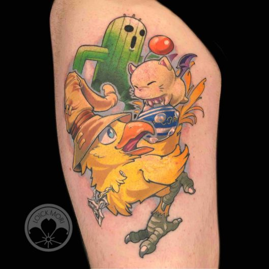 Loïck Mori Maison Kuma - Tattoo 14