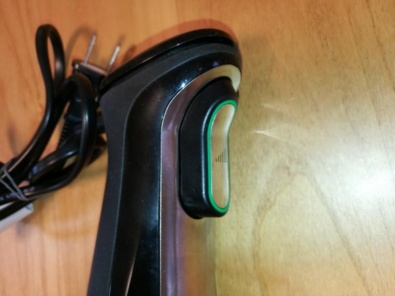 ブラウンマルチクイックMQ735の回転部本体の速度コントロール部分のスイッチ画像