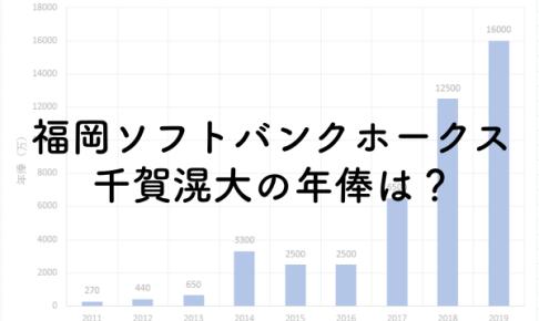 福岡ソフトバンクホークス千賀滉大の年俸は?2019年は1.6億円!のアイキャッチ画像