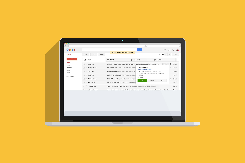 gmail ads macbook flat