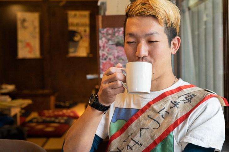 筑波山で飲むコーヒーは絶品
