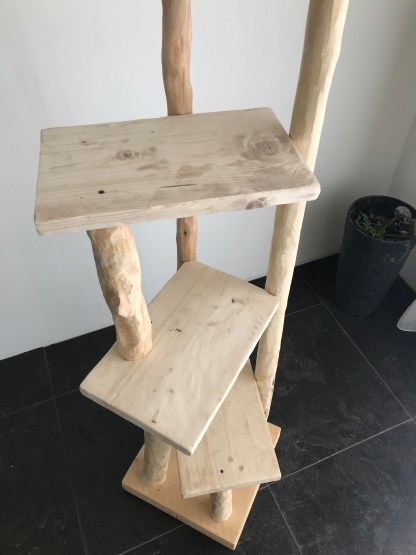 krabpaal hout natuurlijk boomstam