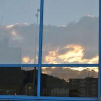 Sunday Photo Fiction -Reflection On Reflection