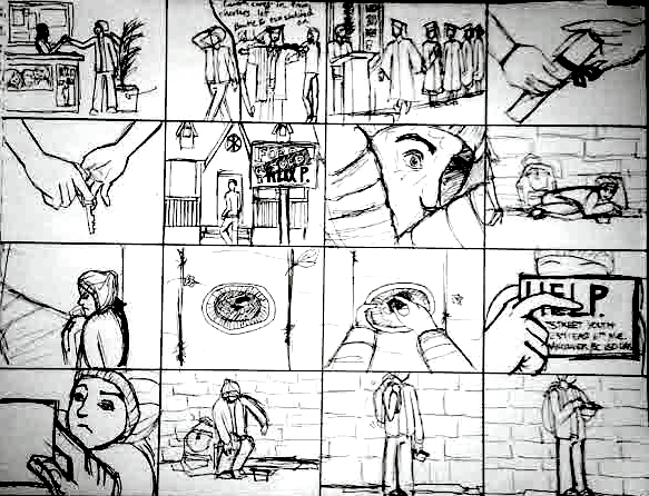 Storyboard by Shauna Chin