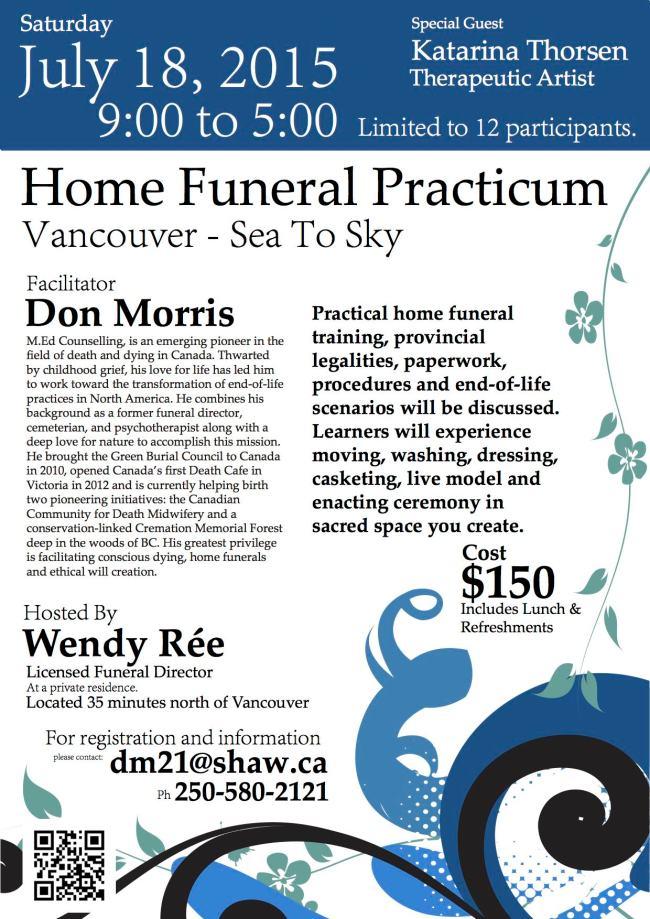 Home Funeral Practicum Final