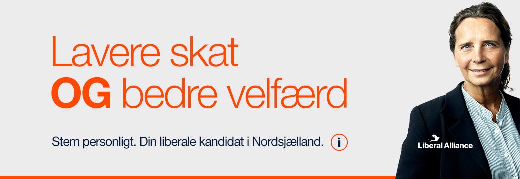 Politiker kandidat valg 2019 Lavere skat OG velfærd - politiker May-Britt Kattrup Liberal alliance