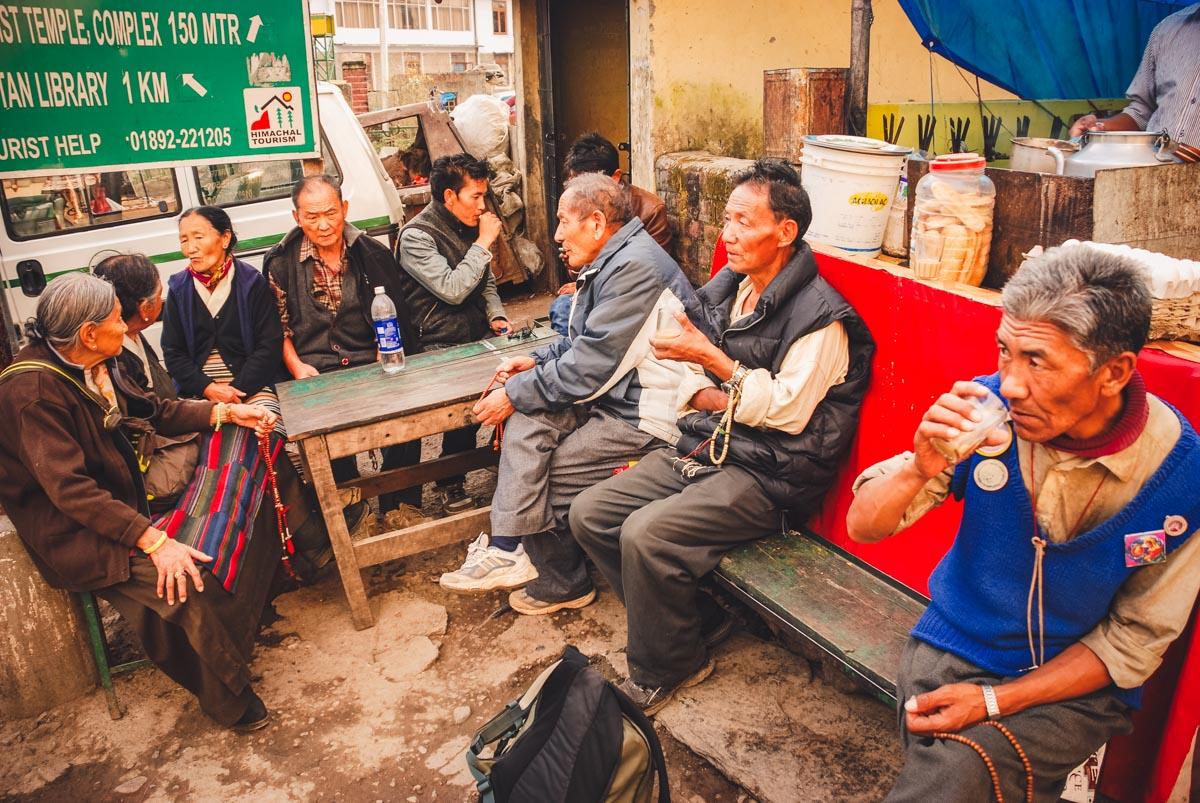 tibetani a mcleod ganj
