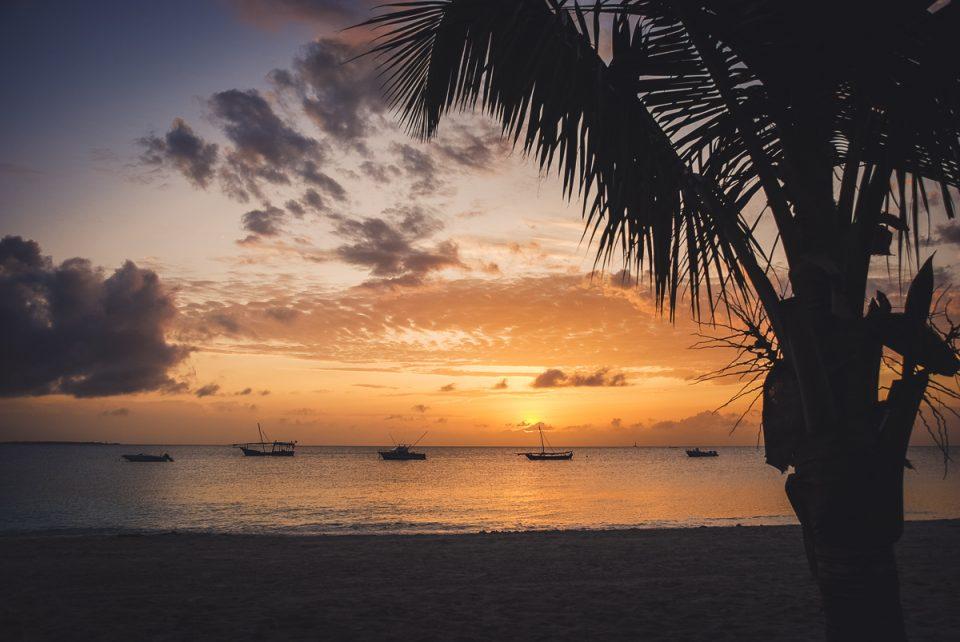 kendwa sunset zanzibar