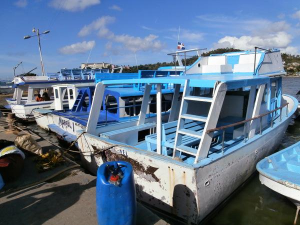 """Saman?. """"Traghetto"""" per attraversare il golfo e arrivare a Sabana De La Mer"""
