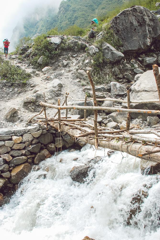 trekking in annapurna himalaya