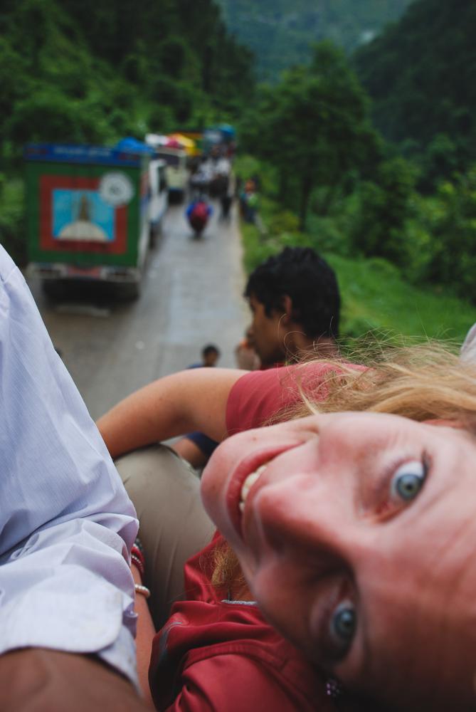 entering Nepal