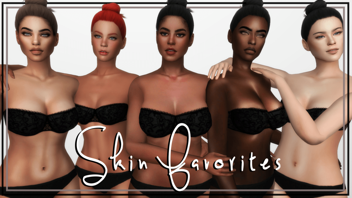 The Best Sims4 Skin Overlay - Curious