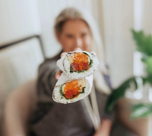 Tuna Sushi Burrito from Naruto Sushi Club Feast