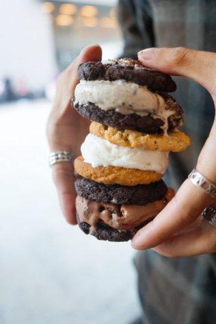 Ice Cream Sandwich Trio, Bluestem Brasserie, Milk and Cookies, KatWalkSF, KatFoodSF, SF Pride, SF Blogger, Pride SF, Harvey Milk, Pride 2017, Market Street, SF Style, My San Francisco, Only SF, Always SF, SF Blogger