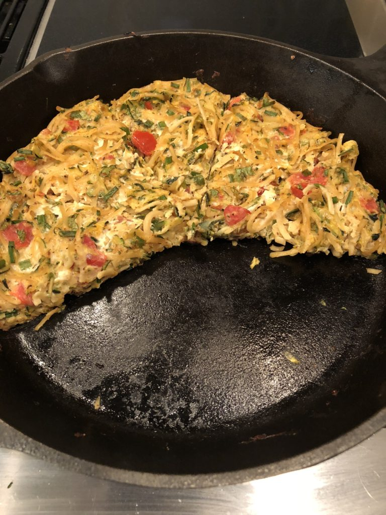 A picture of the skillet meal I made.