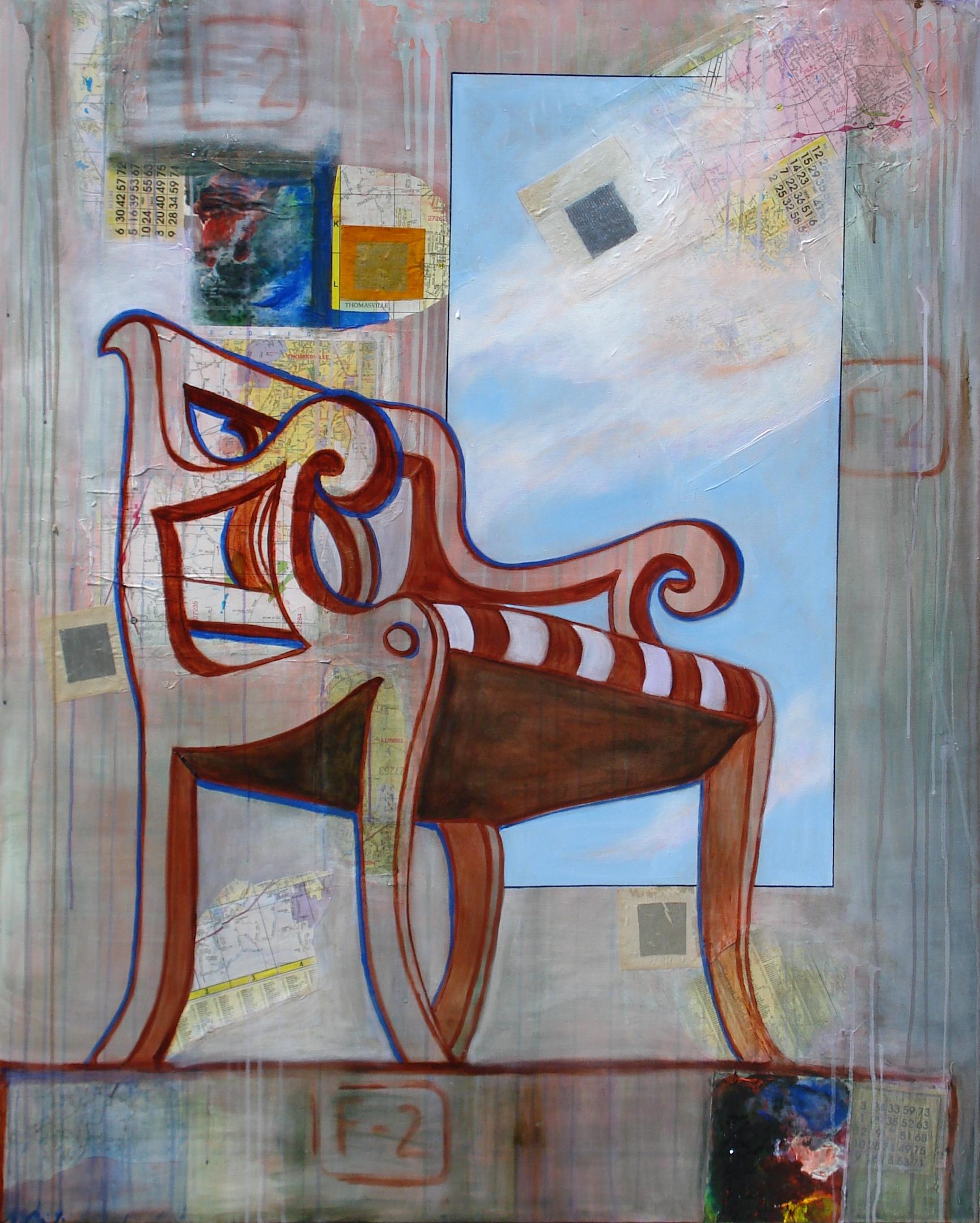 """""""Big Chair (Thomasville)""""  (c)Katy Allgeyer"""