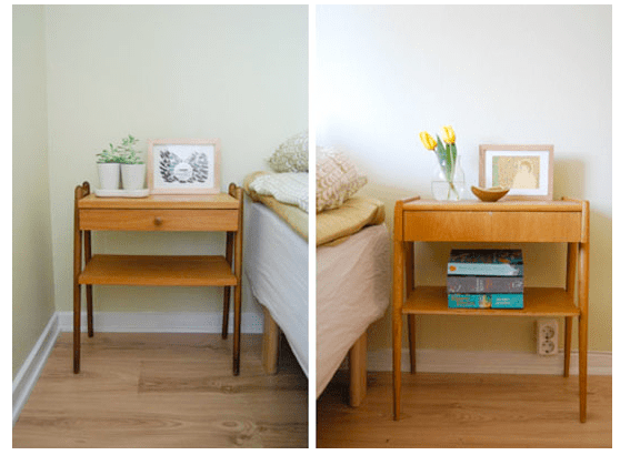 CAN A MISMATCHED PAIR OF NIGHTSTANDS EVER BE GOOD FENG SHUI? | Feng Shui By Fishgirl