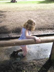 Barefoot Mud Girl