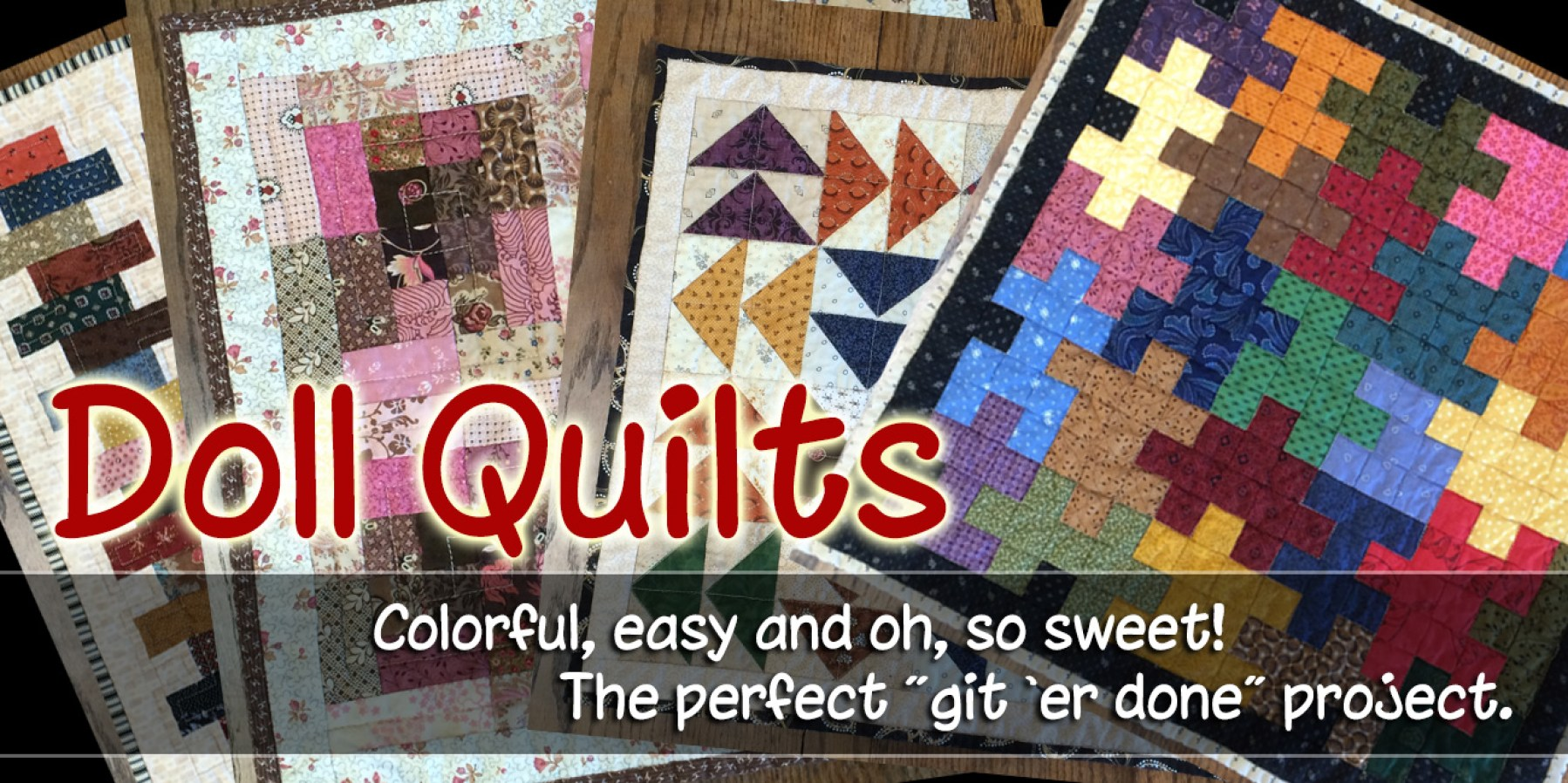Doll Quilt Page Header