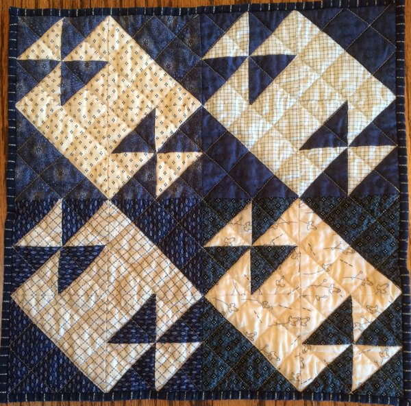Tea for Two Doll Quilt