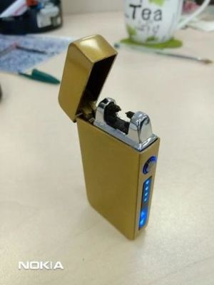 Electric Lighter With Plasma Arc Effect And Touch Sensing Lighting photo review