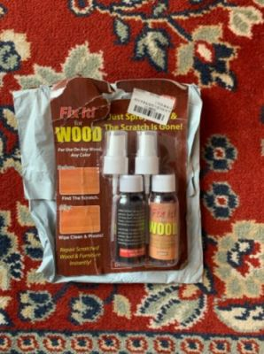 Wood Scratch Repair Spray photo review