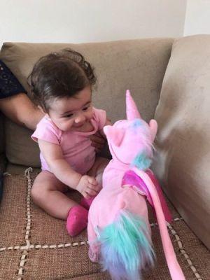 Magic Walking & Singing Unicorn | Electric Walking Unicorn Plush Toy  With Music photo review