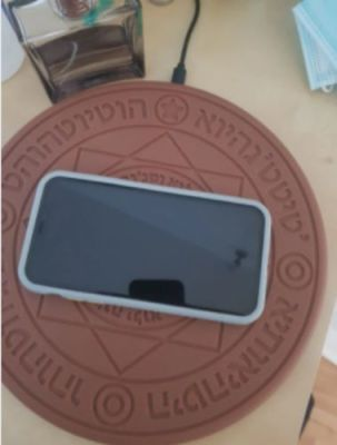 Magic Array Wireless Universal Fast Charging Circle 10W Glowing Charger For Iphone Samsung Universal Mobile Phone photo review
