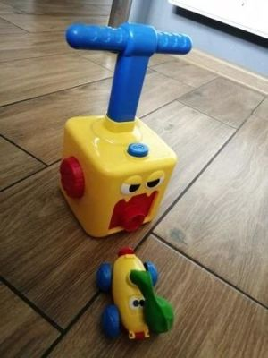 Balloon Powered Car Balloon Launcher Toy photo review