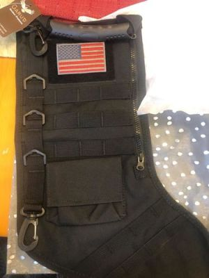 Tactical Christmas Stocking photo review
