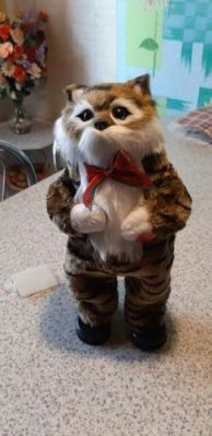 Singing And Dancing Cat 30Cm - Electric Cat Toy Singing 1 English Song photo review