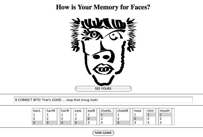 screenshot of my game