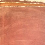 Aboriginal Painting close-up