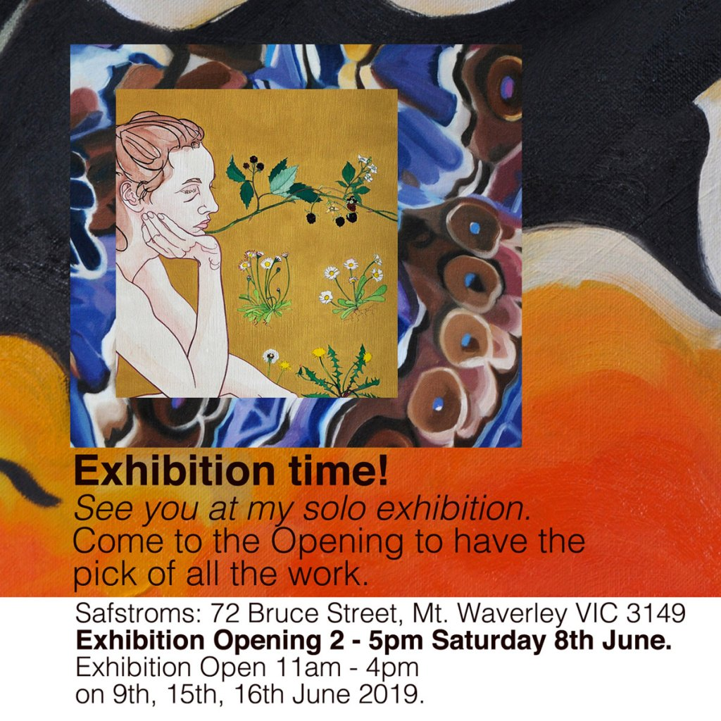 Invitation to Katy Hood Solo Exhibition