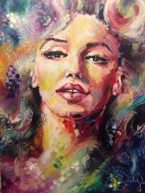 Oil Paintings of Women Faces