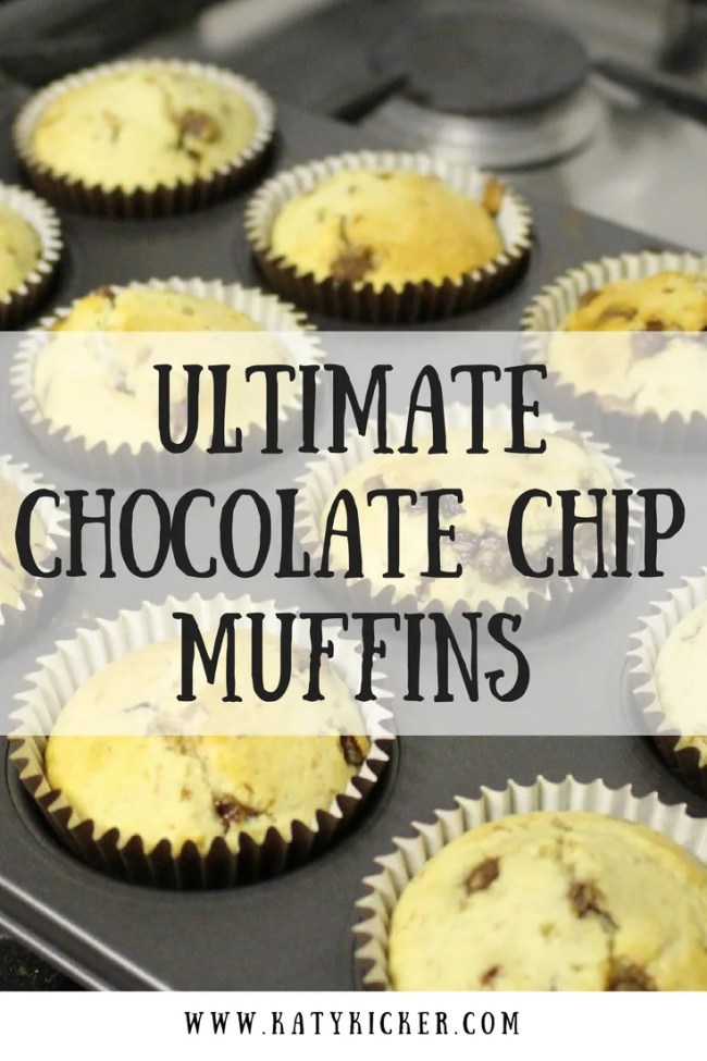 Find out how to make my ultimate chocolate chip muffins. Frugal recipes, delicious muffins, simple bakes, frugal eats all mixed and in the oven in minutes!